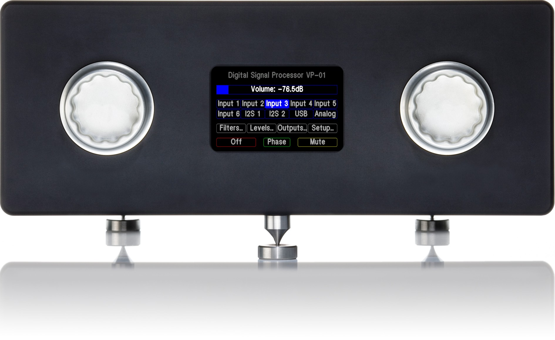 High-End Vorverstärker VP DSP-Preamp